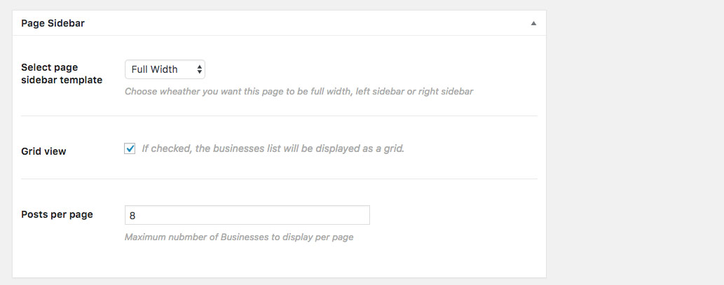 business-listing-page-options
